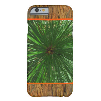 Green Needles on Bark Barely There iPhone 6 Case