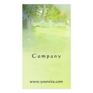 Green Neighborhood Business Card