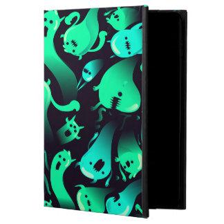Green Neon Ghost Pattern Powis iPad Air 2 Case