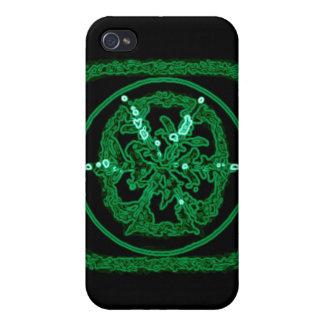 Green Neon iPhone 4/4S Cases