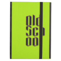 Green Neon Old School iPad Air Cover