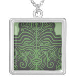 Green New Zealand Tribal Necklace