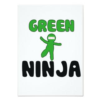 Green Ninja Card