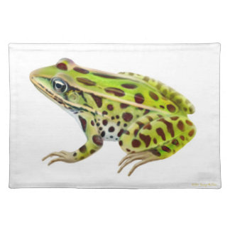 Green Northern Leopard Frog Placemat