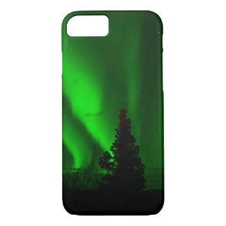 Green Northern Lights iPhone 7 Case
