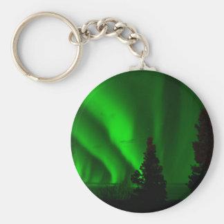 Green Northern Lights Keychain