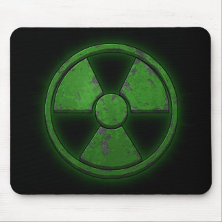 Green Nuke Mouse Pad