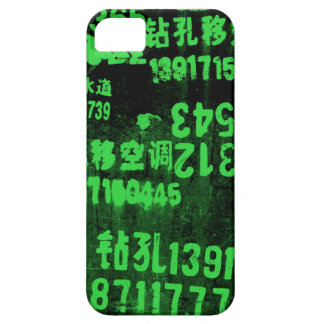 green numbers iPhone SE/5/5s case