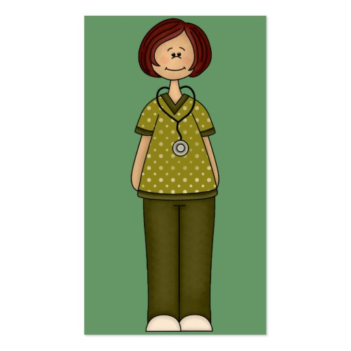Green Nurse Business Card