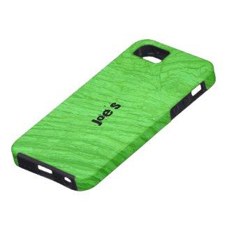 Green Oak Bark iPhone 5 Case