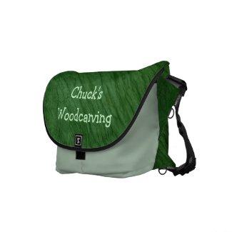 Green Oak Bark Messenger Bag rickshawmessengerbag
