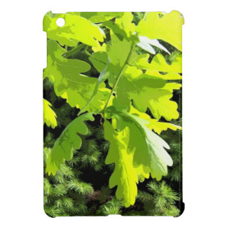 Green Oak Tree Leaves iPad Mini Cases