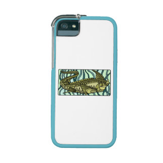 Green Oar Fish iPhone 5 Cases