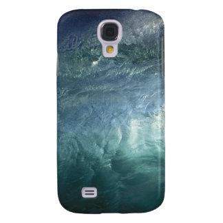 Green ocean wave galaxy s4 cover
