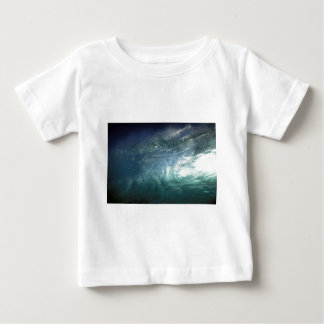 Green ocean wave shirt