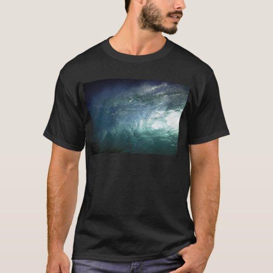 Green ocean wave T-Shirt