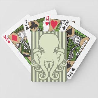 Green Octopus Card Decks