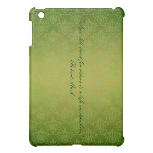 green old world ipad cover