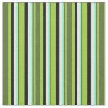 [ Thumbnail: Green, Olive Green, Aquamarine, Mint Cream & Black Fabric ]