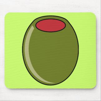 Green olive mousepad