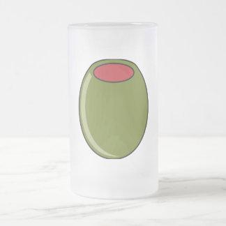 Green olive mug