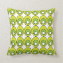 Green Olive Pattern Pillows