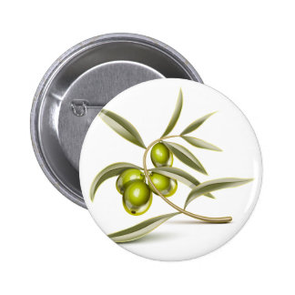 Green olives branch buttons