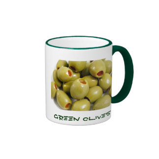 Green olives mug
