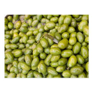 Green Olives Postcard