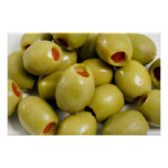 Green olives posters