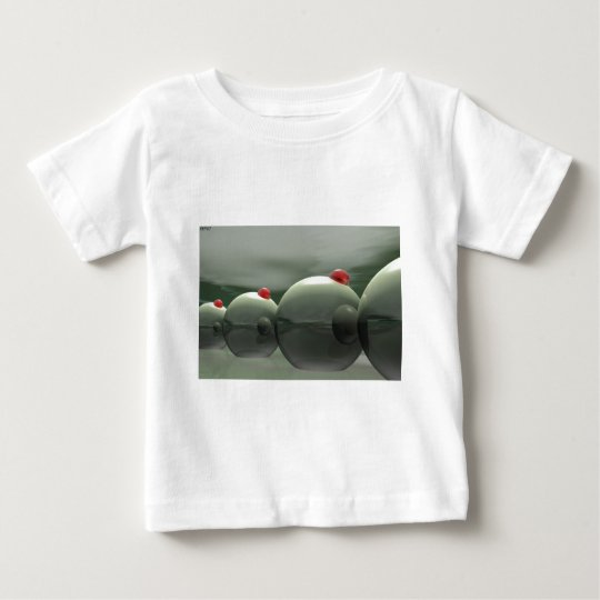 Green Olives Techno Baby T-Shirt