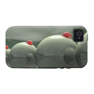 Green Olives Techno iPhone 4 Cases