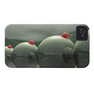 Green Olives Techno iPhone 4 Case