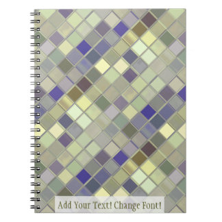 Green Olives Tile Squares Customizable Notebook