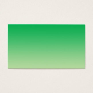 Green Ombre Business Card