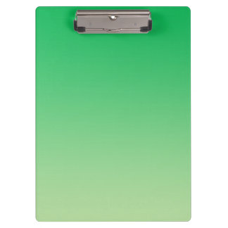 """""""Green Ombre"""" Clipboard"""