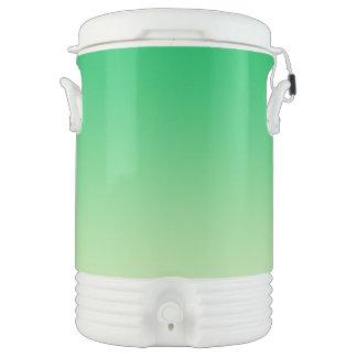 Green Ombre Cooler