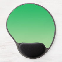 """Green Ombre"" Gel Mouse Pad"