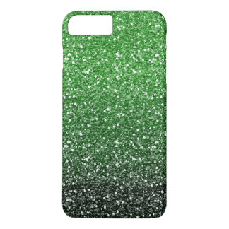 Green Ombre Glitter Effect iPhone 8 Plus/7 Plus Case
