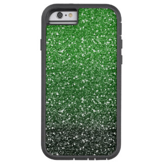 Green Ombre Glitter Effect Tough Xtreme iPhone 6 Case