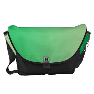 Green Ombre Large Courier Bag