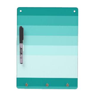 Green Ombre Stripes Dry Erase Board