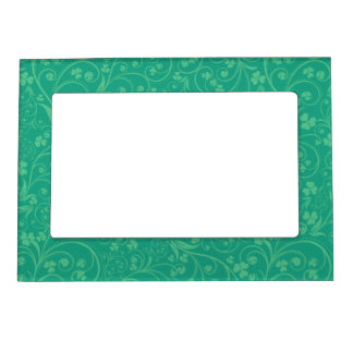 Green on Green Foliage Photo Frame Magnets