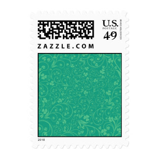 Green on Green Foliage Stamp