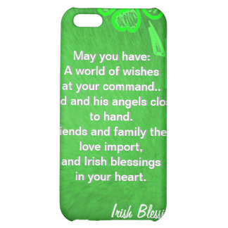 Green on Green iPhone 5C Cover