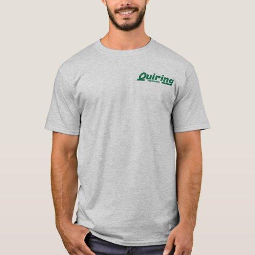 Green On Grey T_Shirt