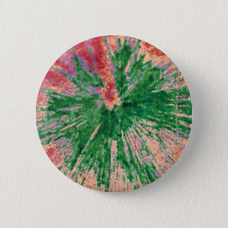 Green on Red and Orange Paintball Button