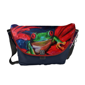 Green On Red Commuter Bag