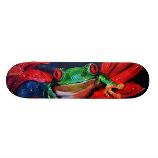Green On Red Skate Board Decks