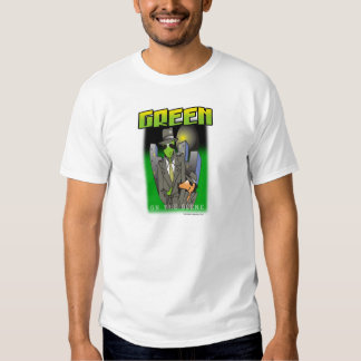 Green on the scene shirt